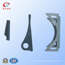 Aluminum Sheet Auto Punching Parts by Cast Iron Foundry