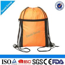 Polyester Gym Drawstring Sports Bag