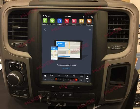ANDROID CAR SCREEN for Dodge Ram 2014-2018