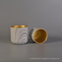 Popular Hydrographics Transfer Printing Ceramic Candle Holder