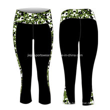 OEM Factory Lycra Sublimation Ladies Yoga Pants