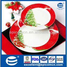 7pcs фарфоровый торт EX8201B для рождественского подарка