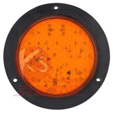 DOT Approved 4 Inch Round Tail Stop Turn Reverse Light Water Proof,