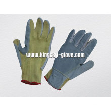 10g String Knit Aramid verstärkte Palm Anti-Cut-Handschuh-2308