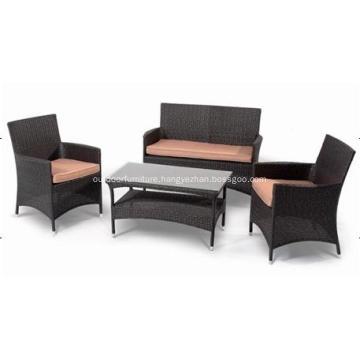 Cheap Outdoor Wicker Furniture Rattan Sofa Chair