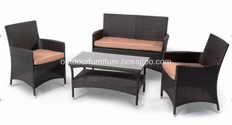 DLR1121 Cheap Outdoor Wicker Furniture Rattan Sofa Chair