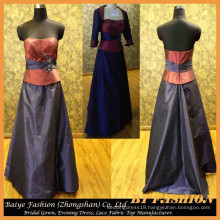 Evening Gown Designs for Fat Girl Mother Party Gown Waist Coat BYE-14091