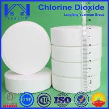 Efficacité de la sécurité Tableaux de dioxyde de chlore pour système de traitement de l'eau