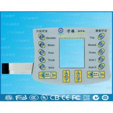 Nouvelle conception de commutateur à membrane DIY avec écran LCD