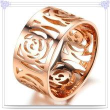 Anillo de la joyería del acero inoxidable de la manera de las mujeres (SR361)