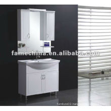 vanity with mirror cabinet