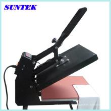 Machine de transfert de presse de chaleur de T-shirt facile d'opération de Suntek