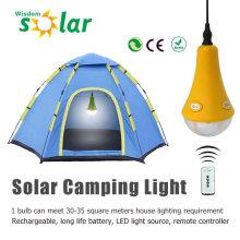 CE aprobado control remoto solar de la lámpara al aire libre con cargador USB JR-SL988A