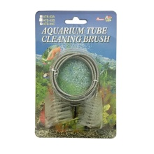 "Percell 60 ""Dual-Head Spring Aquarium Rohrbürste"