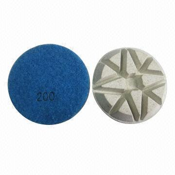 80mm Resin Bond Polishing Pads for terrazzo polishing