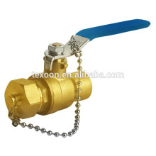 "Chain full port brass ball lever handle valves 1/2""~1"" Lead free"
