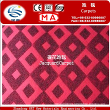 Fire Retardant Jacquard Needle Punched Carpet for Home
