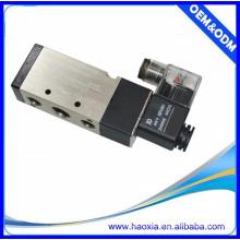 Zwei-Position Fünf-Wege-Aluminium-Legierung Pneumatische Magnetventil 110v