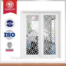 Porta interior moderna porta de madeira maciça usada porta de vidro deslizante venda Escolha de qualidade