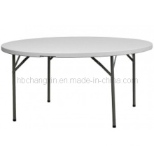 Hot Selling High Quality 6ft Round Plastic Folding Table