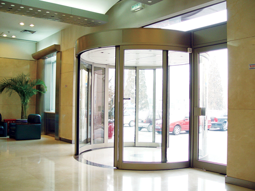 Ningbo GDoor Automatic Curved Sliding Doors for Research Institutes
