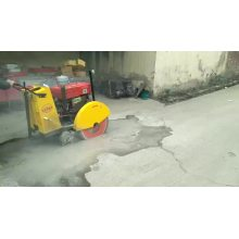 Gasoline/diesel asphalt concrete road cutter cutting machine with blade 500mm for sale