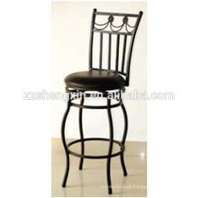 Cadeiras de barras de aço rotativas