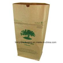 Bolsa ecológica de residuos y hojas de jardín