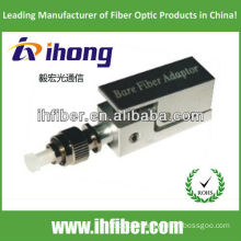 fc/pc bare fiber adapter square type with metal housing