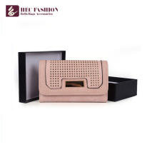Хек новейший сотовый телефон кошельки ПВХ материалы PU женщин сцепления кошелек