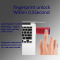Fingerabdruck U Flash-Speicher
