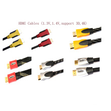 1.4V Supports 3D/4k HDMI Cable
