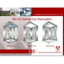 Cabine de elevador com painel de linha fina (SN-CD-140)