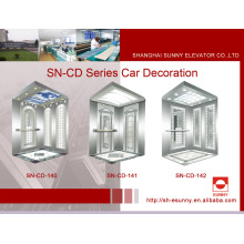 Elevator Cabin with Hairline Panel (SN-CD-140)