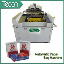 Machine de fabrication de sac en papier avec 2 couleurs d'impression en ligne