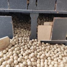Bola de cerámica de alúmina 68% utilizada en azulejos de pared