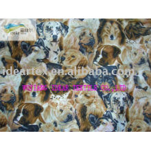 100% Polyester Pongee Printed Fabric For Coat