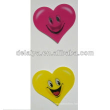 3D grating stickers for heart