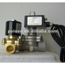 ZCM normalmente cerrado válvula de gas de latón de baja presión