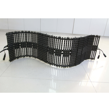 P10 Outdoor LED Flexible Mesh tirai tampilan layar
