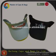 men's sports visor/sun visor cap/hat with velcro back closure