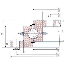 Torriani Flange Slewing Ring Bearing SD. 1500.32.00. C