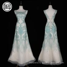 High-end handwork women's elegant long alibaba evening dresses