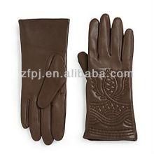 Guantes de cuero de estilo tibetano guantes de cuero