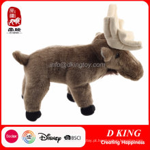 Venda quente Plush Deer Toy Stuffed Animal