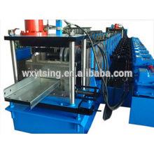 Passé CE et ISO YTSING-YD-0873 Acier laminé à froid CZ Purlin Interchangeable Forming Machine Fabricant