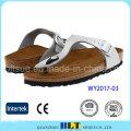 Zapatillas blancas de Cork Materials USA Style Slippers