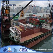sand transport floating crane barge (USA3-009)