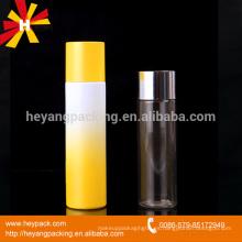 Botella de gradiente de PET de 120ml 150ml de plástico