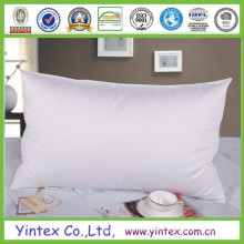 100% Cotton White Duck Down Pillow for Home Using